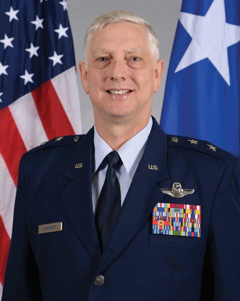 Maj Gen Mark Camerer