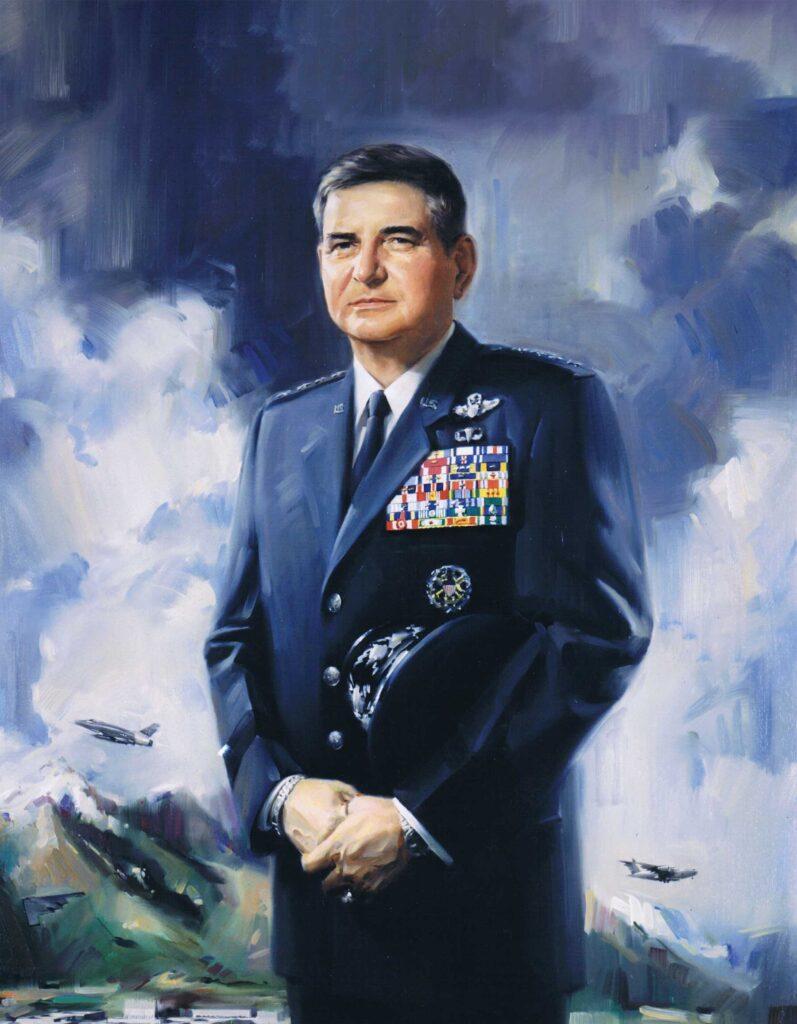 Retirement portrait of Air Force Chief of Staff Gen Ronald Fogleman