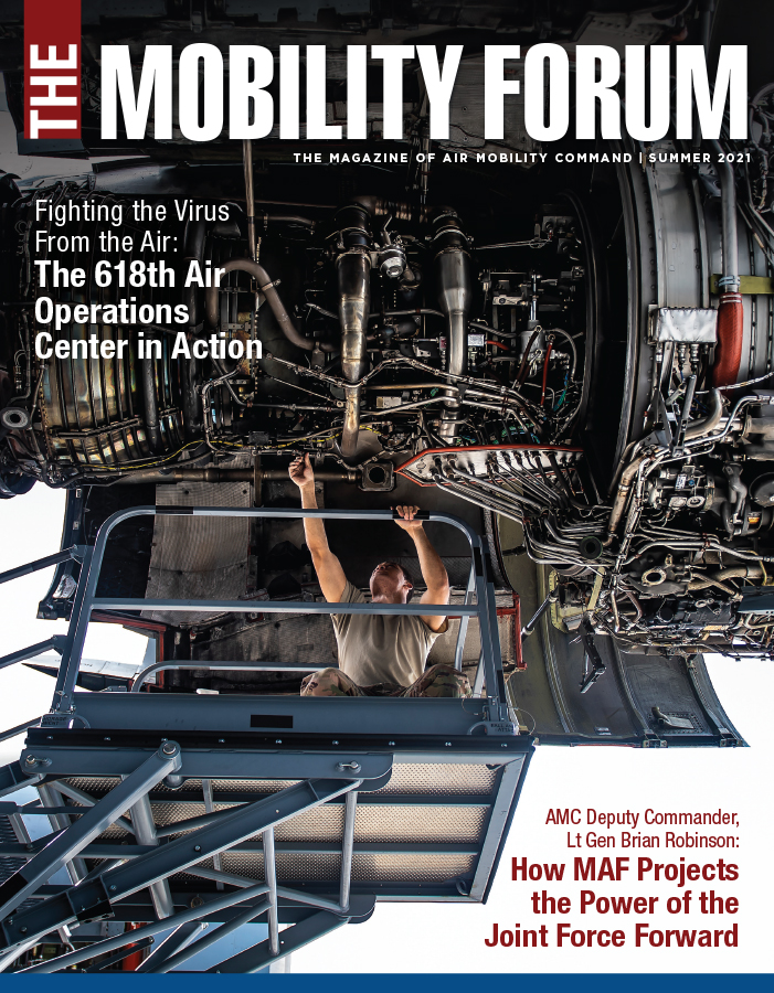 Cover of the Summer 2021 edition of The Mobility Forum
